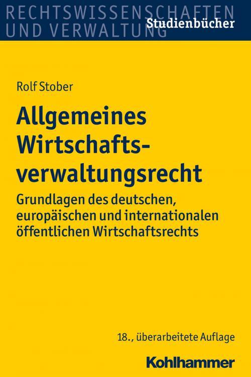 Allgemeines Wirtschaftsverwaltungsrecht cover