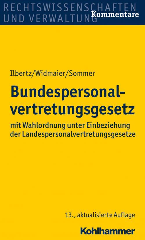 Bundespersonalvertretungsgesetz cover