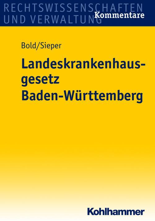 Landeskrankenhausgesetz Baden-Württemberg cover