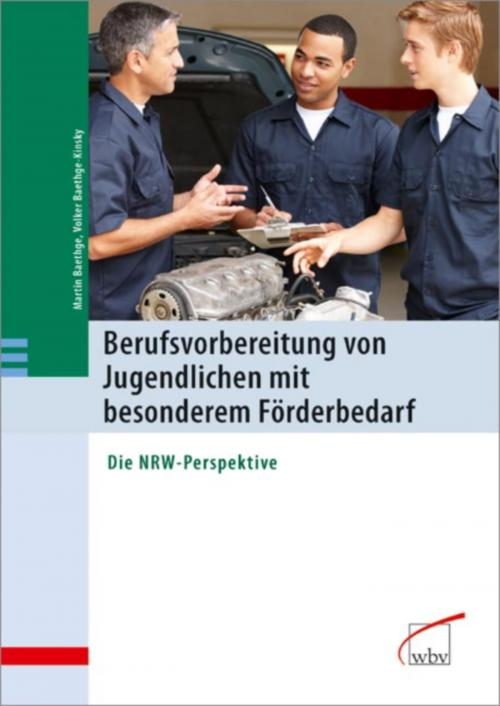 Berufsvorbereitung von Jugendlichen mit besonderem Förderbedarf cover