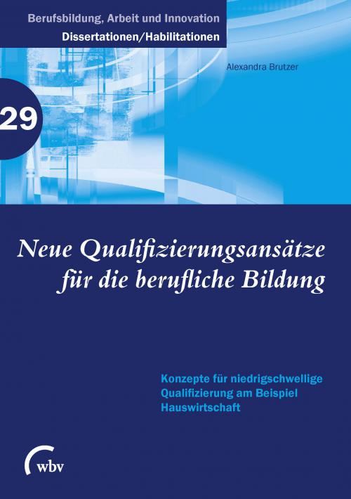 Neue Qualifizierungsansätze für die berufliche Bildung cover