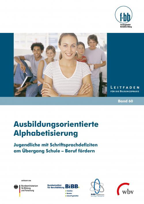 Ausbildungsorientierte Alphabetisierung cover
