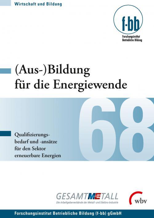 (Aus-)Bildung für die Energiewende - cover