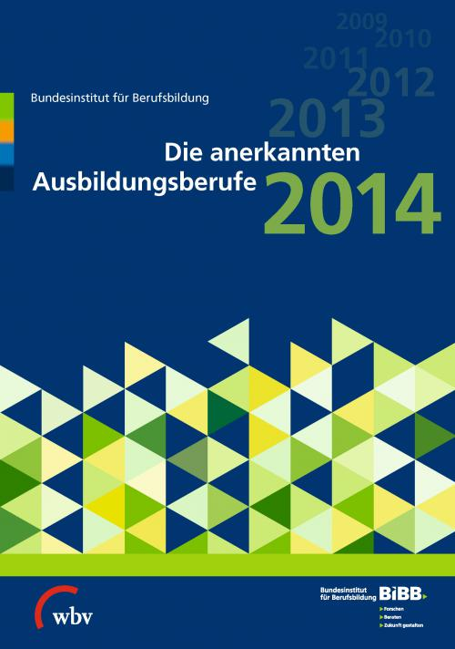 Die anerkannten Ausbildungsberufe 2014 cover