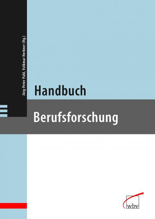 Handbuch Berufsforschung cover