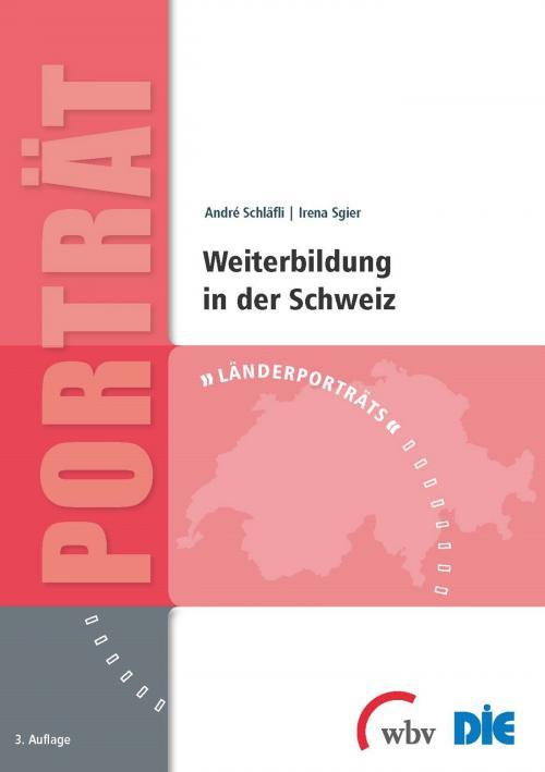 Weiterbildung in der Schweiz cover