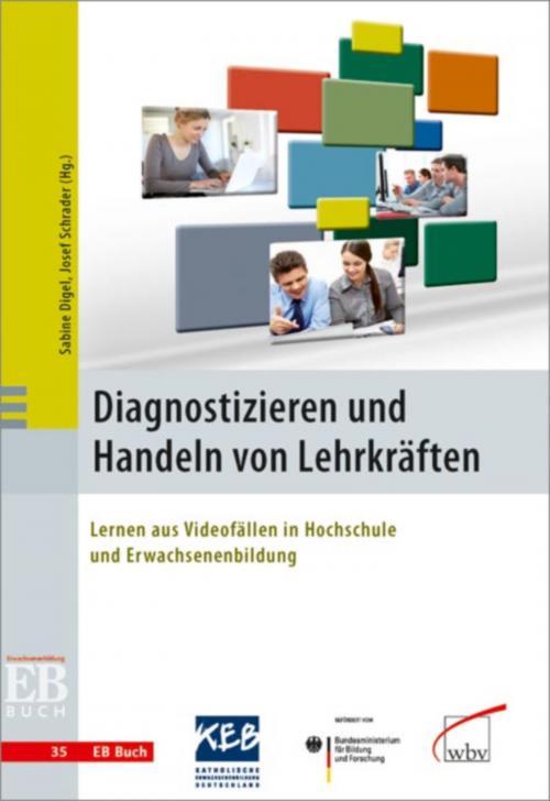 Diagnostizieren und Handeln von Lehrkräften cover