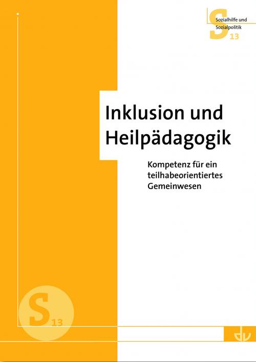 Inklusion und Heilpädagogik cover