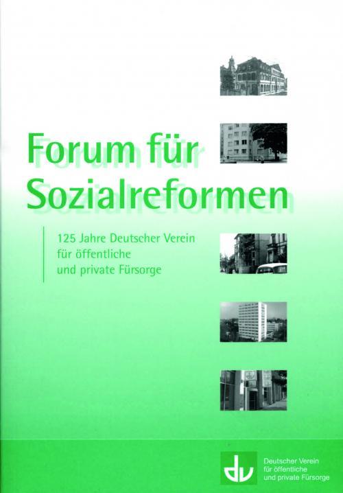Forum für Sozialreformen cover
