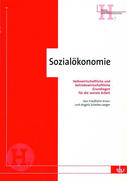 Sozialökonomie cover