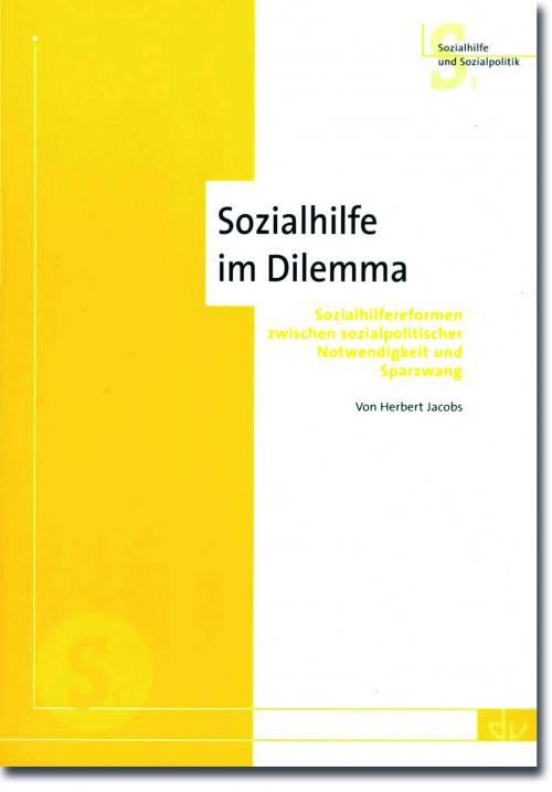 Sozialhilfe im Dilemma cover