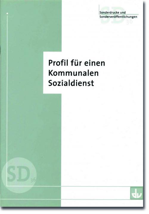 Profil für einen Kommunalen Sozialdienst cover
