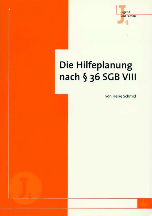Die Hilfeplanung nach § 36 SGB VIII cover