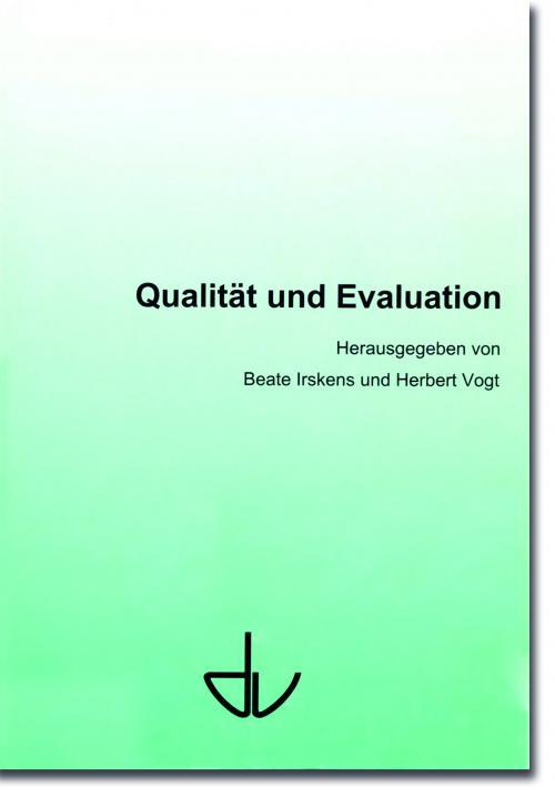 Qualität und Evaluation cover