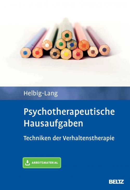 Psychotherapeutische Hausaufgaben cover