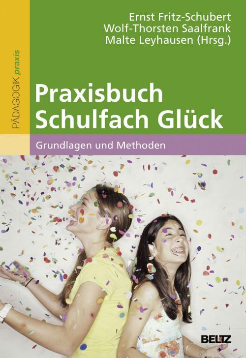 Praxisbuch Schulfach Glück cover