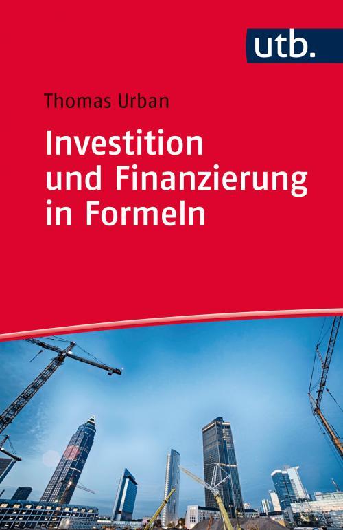 Investition und Finanzierung in Formeln cover