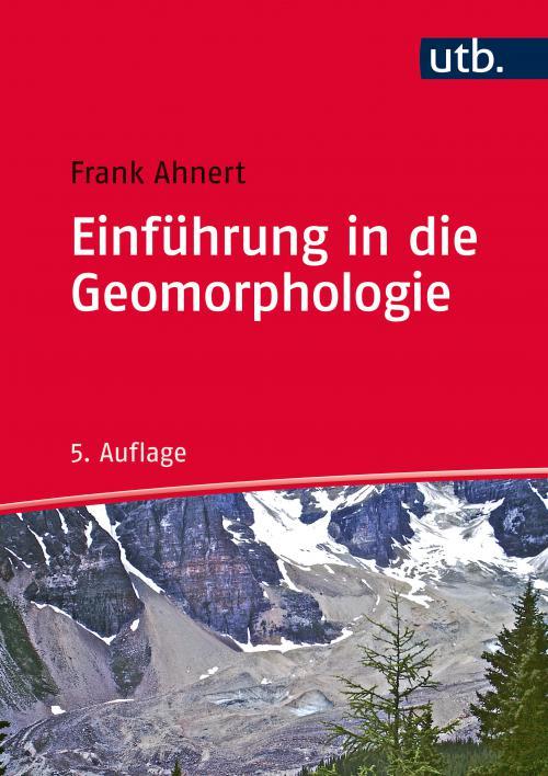 Einführung in die Geomorphologie cover