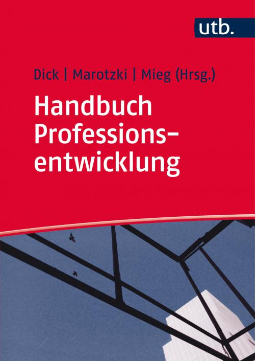Handbuch Professionsentwicklung cover