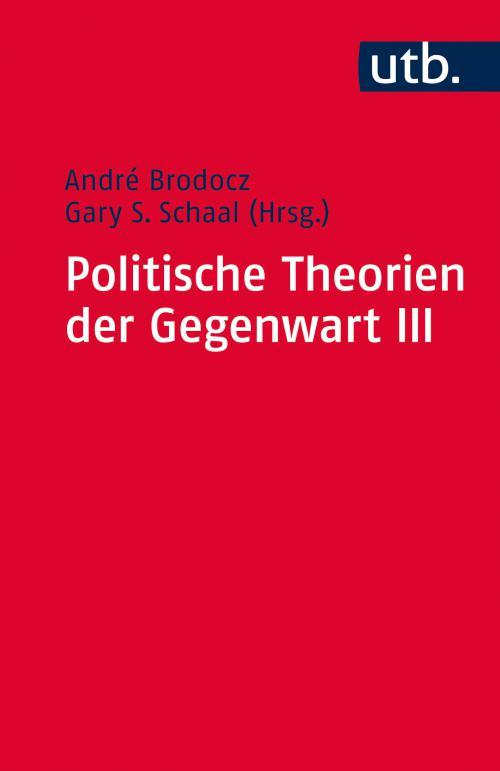 Politische Theorien der Gegenwart III cover