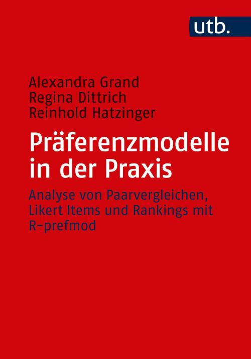 Präferenzmodelle in der Praxis cover