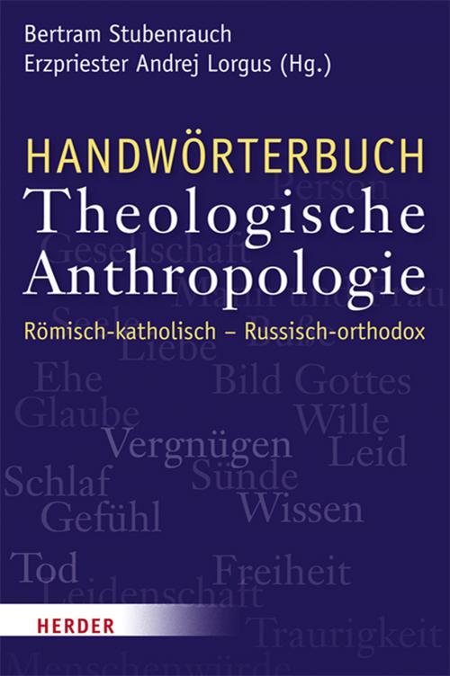 Handwörterbuch Theologische Anthropologie cover