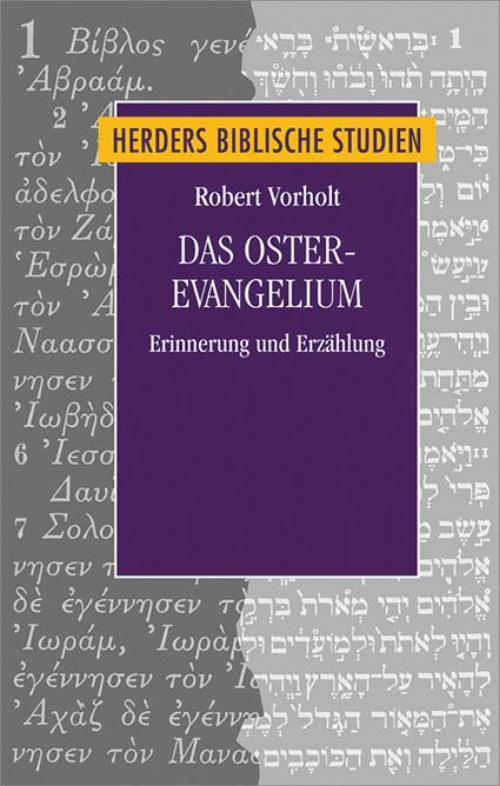 Das Osterevangelium cover