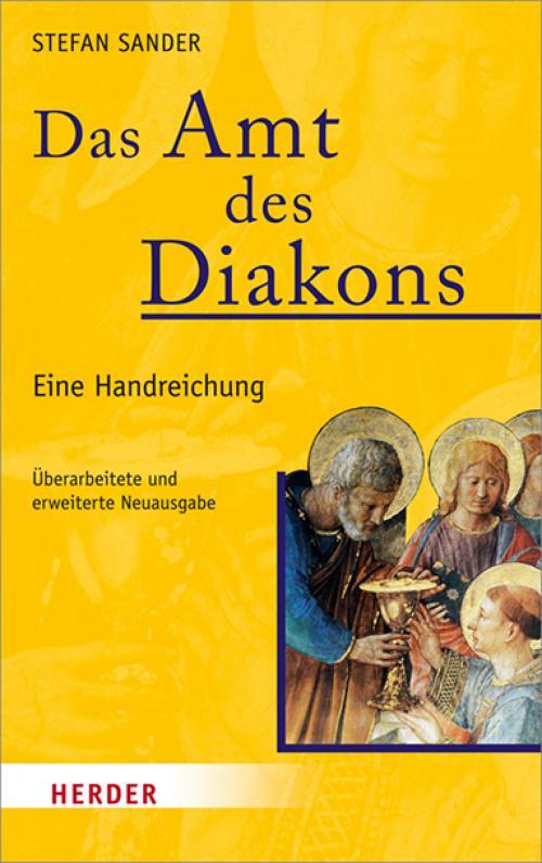 Das Amt des Diakons cover