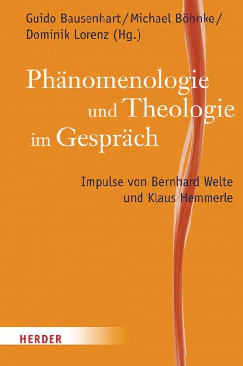 Phänomenologie und Theologie im Gespräch cover