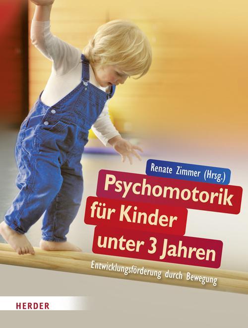 Psychomotorik für Kinder unter 3 Jahren cover