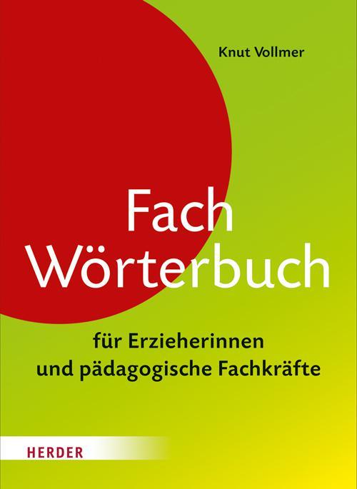 Fachwörterbuch für Erzieherinnen und pädagogische Fachkräfte cover