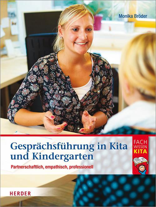 Gesprächsführung in Kita und Kindergarten cover
