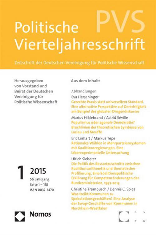 Was treibt Kommunen zu Spekulationsgeschäften? Eine Analyse der Swap-Geschäfte von Kommunen in Nordrhein-Westfalen cover