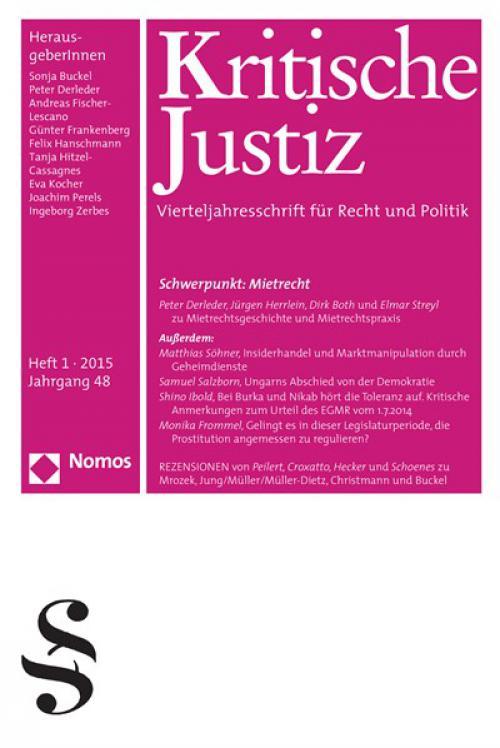 Heike Jung/Egon Müller/Heinz Müller-Dietz (Hrsg.), Justiz und Komödie, Baden-Baden 2014  cover