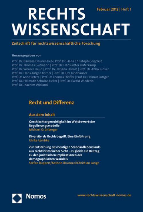Diversity als Rechtsbegriff. Eine Einführung cover