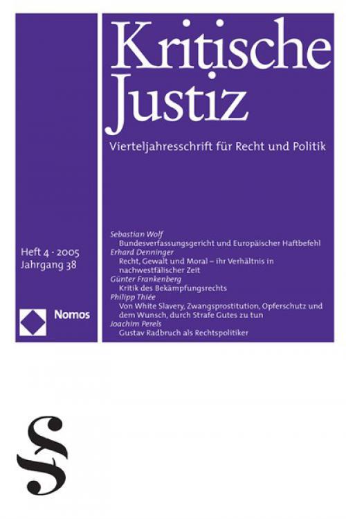 Recht, Gewalt und Moral - ihr Verhältnis in nachwestfälischer Zeit. cover