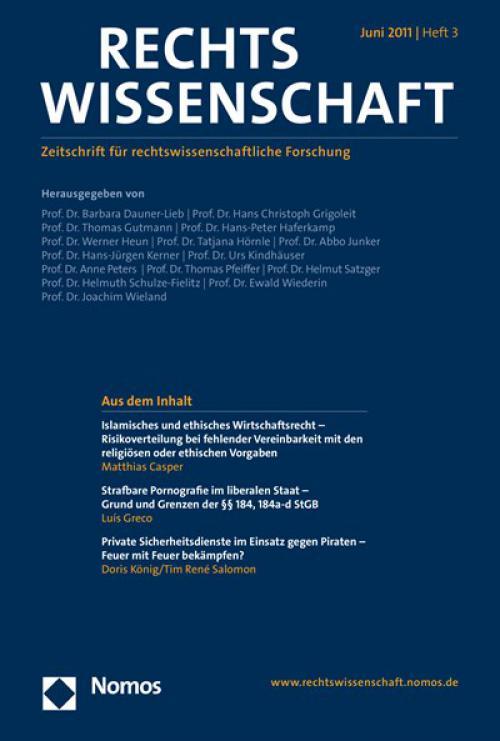 Islamisches und ethisches Wirtschaftsrecht – Risikoverteilung bei fehlender Vereinbarkeit mit den religiösen oder ethischen Vorgaben cover