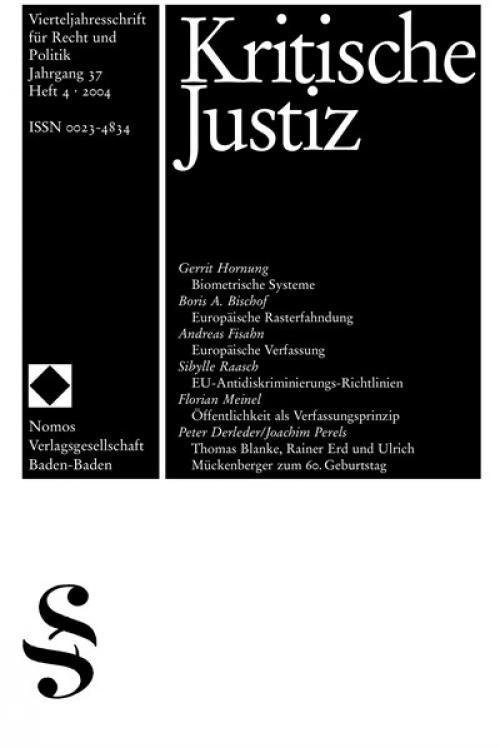 Die europäische Verfassung - ein zukunftsoffener Entwurf? cover