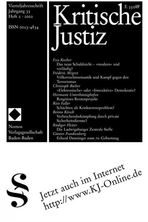 Erhard Denninger zum 70. Geburtstag cover