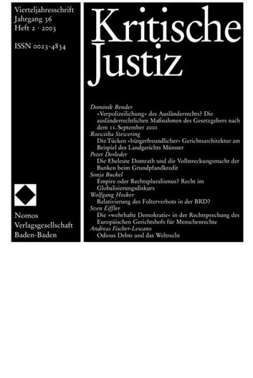 Relativierung des Folterverbots in der BRD? cover