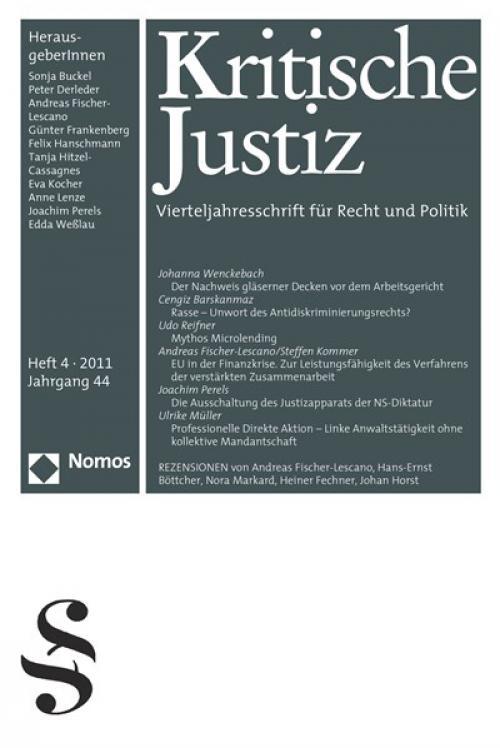 Die Ausschaltung des Justizapparats der NS-Diktatur. Voraussetzung des demokratischen Neubeginns cover