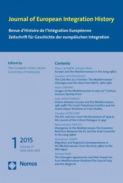 The Schengen Agreements and their Impact on Euro-Mediterranean RelationsThe Case of Italy and the Maghreb  cover