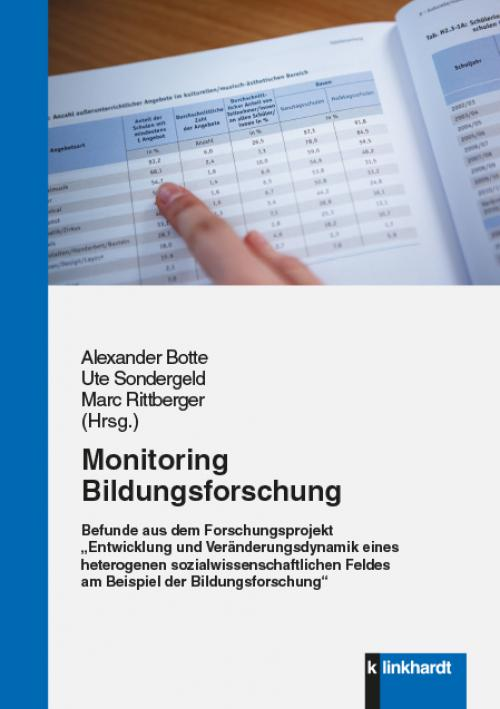 Monitoring Bildungsforschung cover