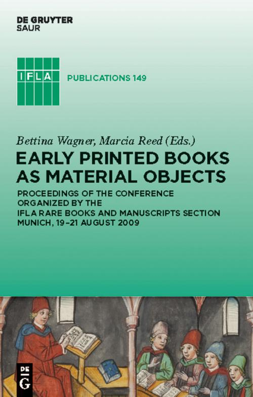 Early Printed Books as Material Objects cover