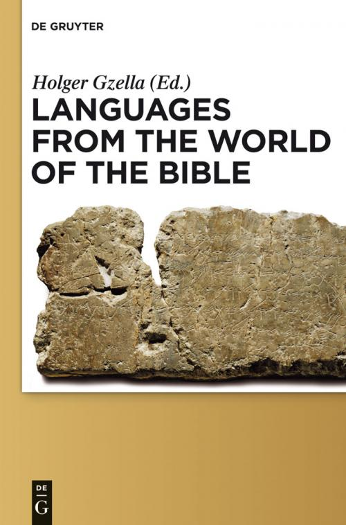 Languages from the World of the Bible cover
