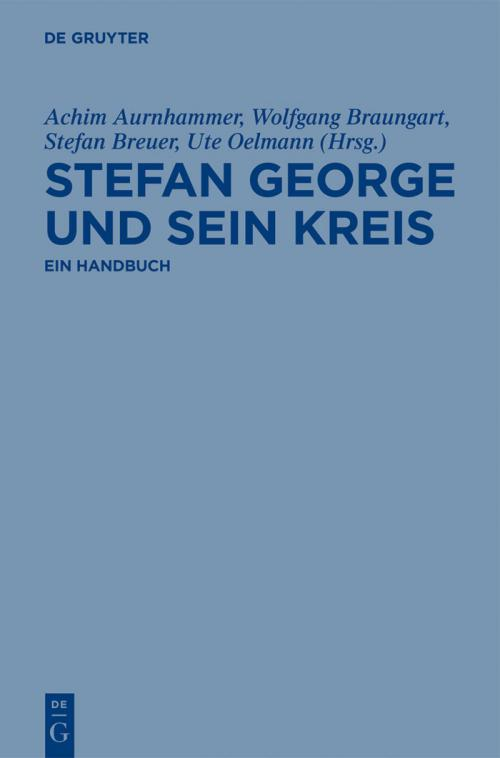 Stefan George und sein Kreis cover