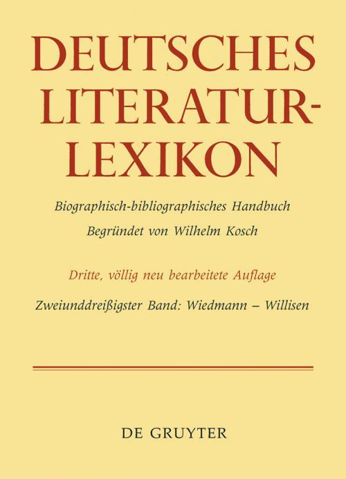 Wiedmann - Willisen cover
