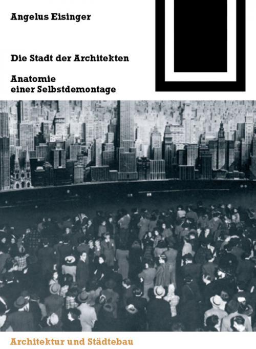 Die Stadt der Architekten cover