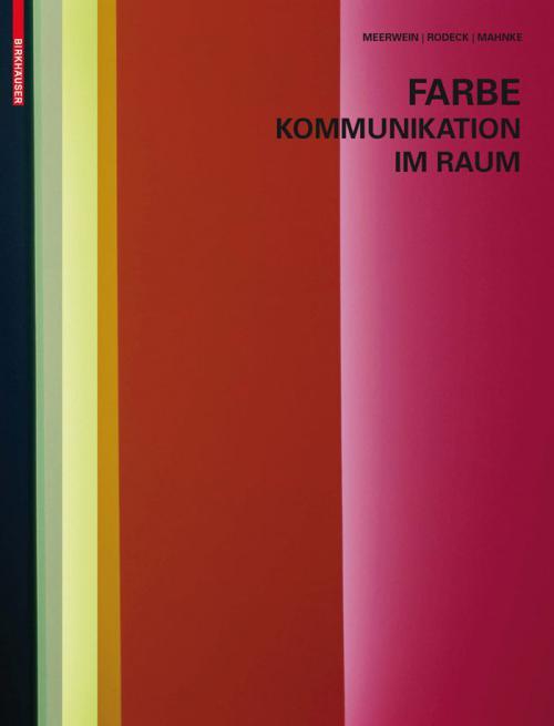 Farbe - Kommunikation im Raum cover