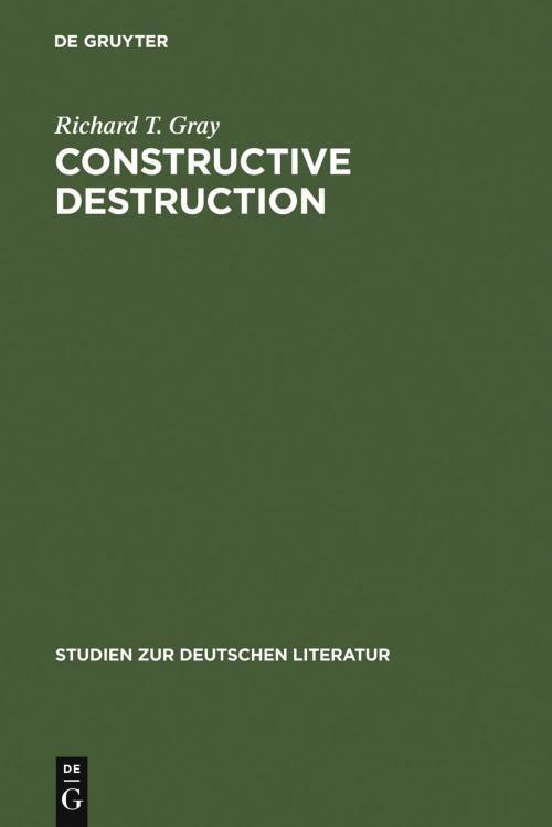 Constructive Destruction cover